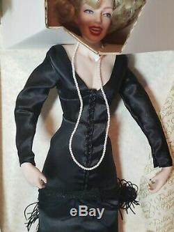 Franklin Mint Marilyn Monroe Porcelain Heirloom Doll Some Like It Hot