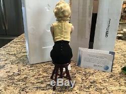 Franklin Mint Marilyn Monroe Porcelain Portrait Doll Unforgettable Marilyn