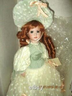 Franklin Mint Maryse Nicole Redhead Caroline Full Body Porcelain Doll 173 of 500