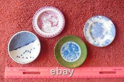 Franklin Mint Miniature Plates Set of 18 The Worlds Great Porcelain Houses Vntg