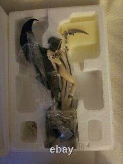 Franklin Mint Mistress of Death Porcelain Statue- Brom Limited Edition NEW
