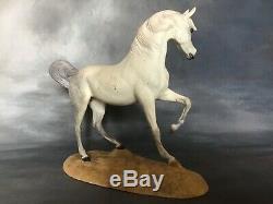 Franklin Mint My Friend Flicka Limited Edition Porcelain Arabian Horse Sculpture