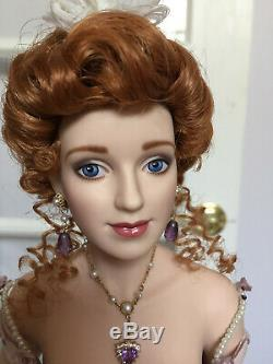 Franklin Mint PEARL THE GIBSON DEBUTANTE Porcelain Doll Limited Edition 75/1000