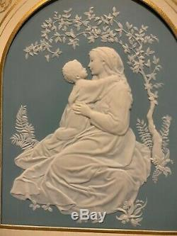 Franklin Mint Parian Porcelain The Madonna of the Grotto Wedgewood
