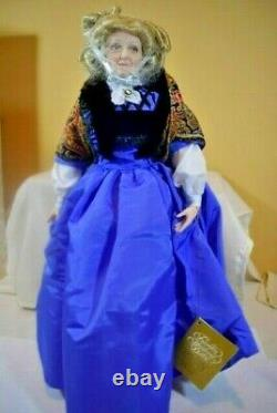 Franklin Mint Porcelain 19 AUNT PITTYPAT DOLL 1994 Gone With the Wind (g0221)