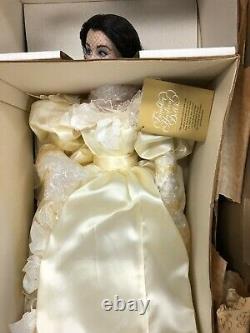 Franklin Mint Porcelain Bride Doll Scarlett OHara Gone With The Wind