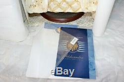 Franklin Mint Porcelain Doll Aleksandra the Faberge Winter Bride NEW in Shipper
