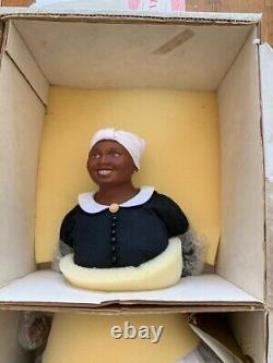 Franklin Mint Porcelain Doll Gone With The Wind Hattie McDaniel In box 20