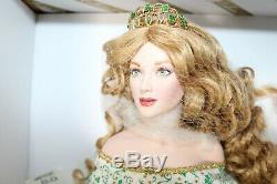Franklin Mint Porcelain Irish Doll Angel of the Emerald Isle NEW NRFB