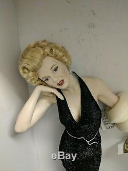 Franklin Mint Porcelain Marilyn Monroe Eternally Marilyn IOP