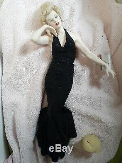 Franklin Mint Porcelain Marilyn Monroe Eternally Marilyn/No box