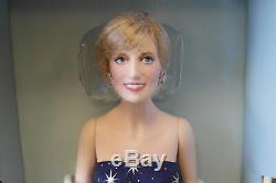 Franklin Mint Princess Diana Doll ENCHANTMENT Porcelain 17 Pristine