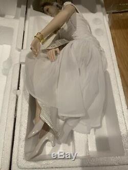 Franklin Mint Princess Diana Doll Porcelain SHEER ENCHANTMENT LE PRISTINE COA