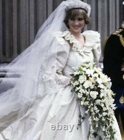 Franklin Mint Princess Diana Doll Porcelain Wedding/ Bride Doll