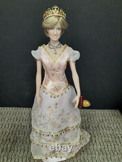 Franklin Mint Princess Diana Doll Redressed In Sofia Debutante Ensemble LE