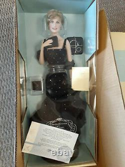 Franklin Mint Princess Diana Doll Sophistication Porcelain 17 In Shipper