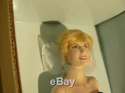 Franklin Mint Princess Diana Of Enchantment Porcelain Portrait Doll W COA