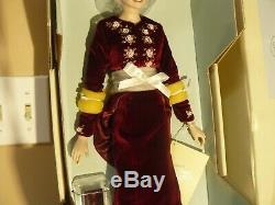 Franklin Mint Princess Diana Of Loveliness Porcelain Portrait Doll W COA