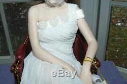Franklin Mint Princess Diana Porcelain Portrait Doll Sheer Enchantment W COA
