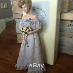 Franklin Mint Princess Diana Porcelain Princess Of Wales WEARING GONZAGA GOWN