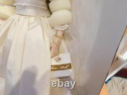Franklin Mint Princess Diana Porcelain Wedding Bride Doll W COA And Shipping Box