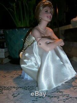 Franklin Mint Princess Diana Portrait of a Princess Porcelain Doll #A0668