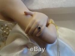 Franklin Mint Princess Diana, Portrait of a Princess Seated Porcelain Doll