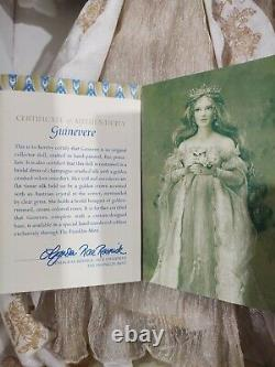Franklin Mint RARE Guinevere Queen Of Camelot Porcelain Doll 18