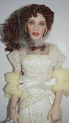 Franklin Mint Rose Titanic Doll Porcelain Reunited Heaven Dress NIB