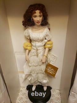 Franklin Mint Rose Titanic Porcelain Doll Reunited Dress