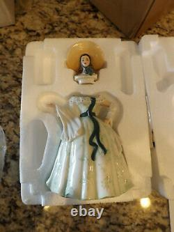 Franklin Mint Scarlett O'Hara Porcelain TeaPot Gone With The Wind New in Box/COA