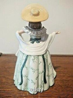Franklin Mint Scarlett O'Hara Porcelain Tea Pot Gone With The Wind
