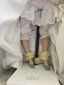 Franklin Mint Scarlett O'hara Porcelain MILL Doll-never Removed From Box-gwtw