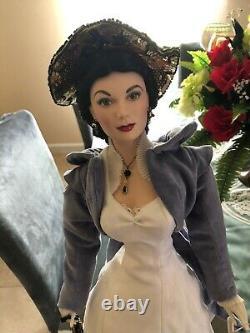Franklin Mint Scarlett O'hara Porcelain Mill-gwtw