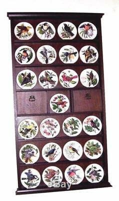 Franklin Mint Songbirds of the World Porcelain Complete 25 Plates 1981 Rare
