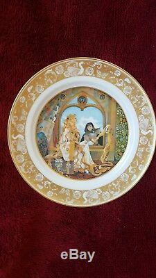 Franklin Mint The Grimm's Fairy Tales Porcelain Plate Collection