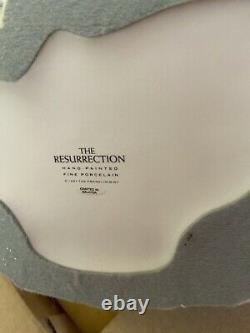 Franklin Mint The Resurrection Porcelain Figurine Statue Jesus Angels Brand New