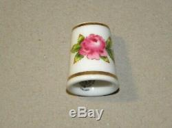 Franklin Mint Thimbles of the World's Greatest Porcelain Houses Lot of 24