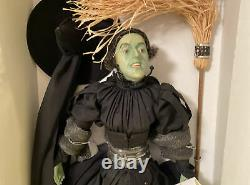 Franklin Mint Wicked Witch Of The West Collectors Doll Wizard Of Oz Porcelain
