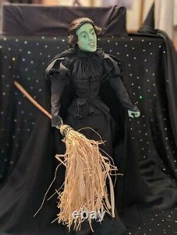 Franklin Mint, Wicked Witch of the West, from the Wizard of Oz, Porcelain Doll