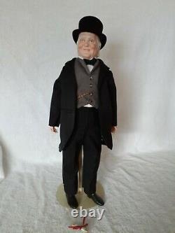 Franklin Mint Wizard of Oz Heirloom Porcelain Doll The Wizard 19