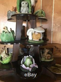 Franklin Mint Woodland Surprises porcelain 1984 Collection
