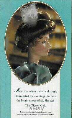Franklin Mint the Gibson Girl Night at The Opera Porcelain Doll New in The Box 1