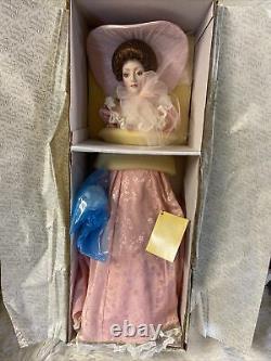 Franklin Rare Gibson Girl Bridesmaid 22 Porcelain Doll Heirloom Vintage