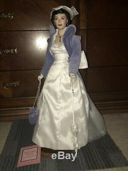 Franklin mint Gone With The Wind Scarlett Dont Look Back Porcelain Doll Rare