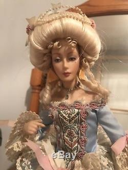 Franklin mint heirloom Marie Antoinette Bisque Doll Collectible Rare