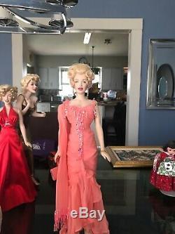 Franklin mint marilyn monroe porcelain Vin doll