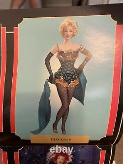 Franklin mint marilyn monroe porcelain doll. Good condition, Bus Stop