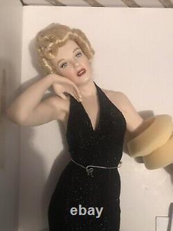 Franklin mint porcelain Eternally Marilyn Monroe doll