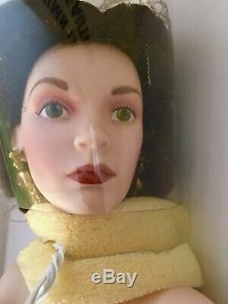 GWTW Franklin Mint Scarlett's Portrait Porcelain Doll Gone With the Wind